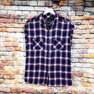 Rails Red/White/Blue Britt Plaid Button Up Shirt
